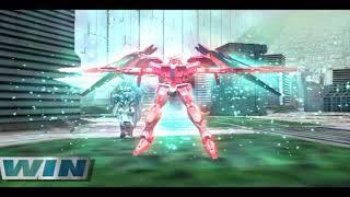 Gundam Vs Gundam Next Plus - Gundam 00 Raiser - L Course - All Bosses