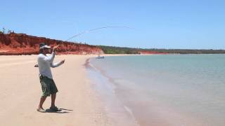 Fly fishing tropic beaches