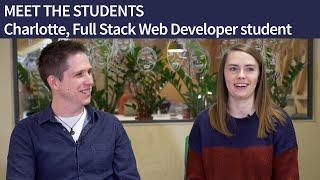 MEET THE STUDENTS   Charlotte, Full Stack Web Developer student