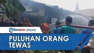 Pabrik Korek Api di Binjai Hangus Dilalap Api, Puluhan Orang Terbakar karena Terkunci Dalam Pabrik