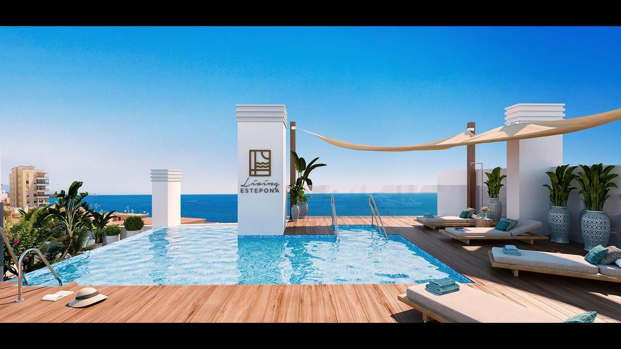 Precioso apartamento de 1 dormitorio junto a la playa en venta en Living Estepona, Estepona cerca de la playa de La Rada