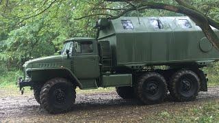 Militärfahrzeugtreffen Königsbrück 2017 Урал-375 КрАЗ-214 ГАЗ-69 Днепр