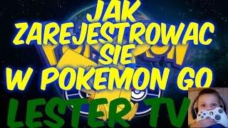 (jak zarejestrować się w pokemon go) poradnik #1