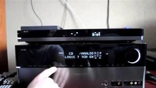 Harman Kardon AVR 350 7.1 Harman Kardon DVD 29 Proson speakers