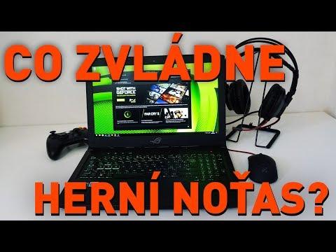 Noťas s NVIDIA GeForce GTX 1060 grafikou ⚠️