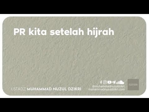 PR KITA SETELAH HIJRAH (2 menitan)