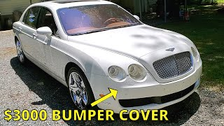 Cheap Salvage Bentley Flying Spur - Front Bumper Cover Repair Starts