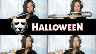 Halloween Theme on Flute + Sheet Music!