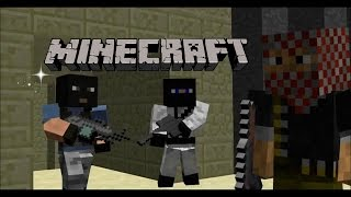 Minecraft Counter  Strike Animation