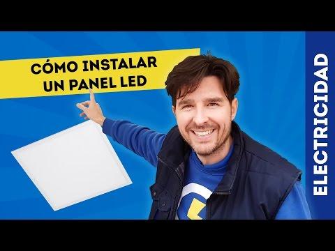 CÓMO INSTALAR PANEL LED ATMOSS | ELECTRICIDAD