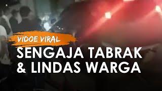 Viral Video Mobil SUV Sengaja Tabrak dan Lindas Warga, Bermula Cekcok Sempat Bersenggolan