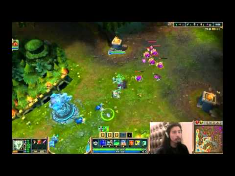 Tresh League of Legends Beta Gameplay