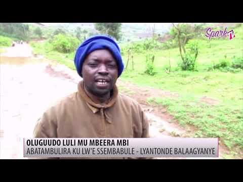 Abatuuze abakozesa oluguudo lwa Ssembabule- Lyantonde beekokkola oluguudo