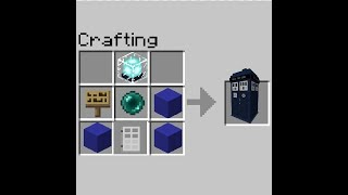 How To Craft Doctor Who Items In MCPE