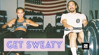 Steve Aoki Talks Staying Sober & His Next Big Hit On Get Sweaty With Emily Oberg