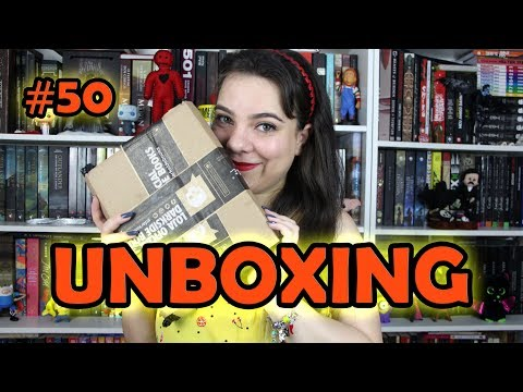 Unboxing DarkSide Books #50