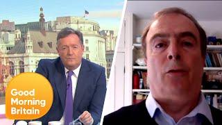 Piers Morgan and Peter Hitchens Clash over the Coronavirus Lockdown | Good Morning Britain