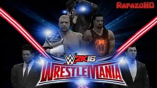 WWE 2K16 Simulation: WRESTLEMANIA 32 - Full Highlights