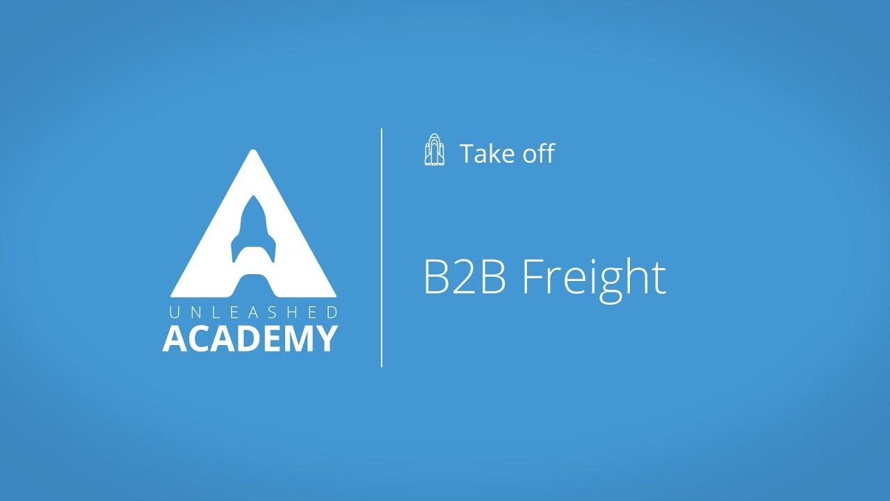 B2B Freight YouTube thumbnail image