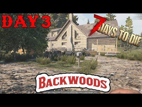 7 Days To Die - Random Horde Nights - Backwoods (Day 3)