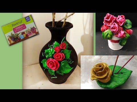 DIY: make beautiful agarbatti stands, artistic pot paintings, cute rose earings and many more