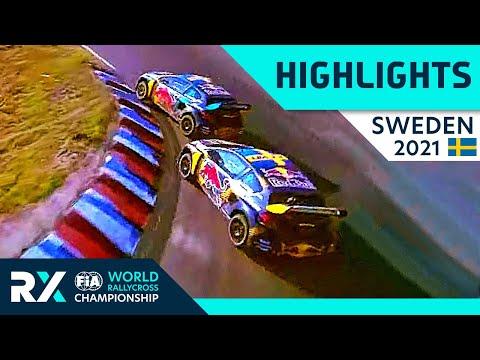世界ラリークロス 第4戦スウェーデン(ホーリエス)2021年 RXクラスの決勝ファイナルのハイライト動画