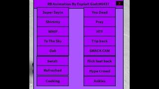 Roblox Fe Animations Gui