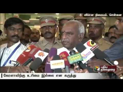 Kerala-doesnt-have-right-over-Siruvani-River-water-Pon-Radhakrishnan