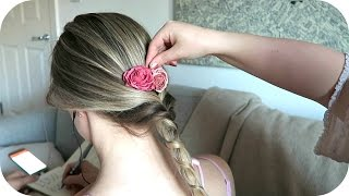 {ASMR} Hairplay And Brushing With Braids And Plaits / Sounds Only/NoTalking