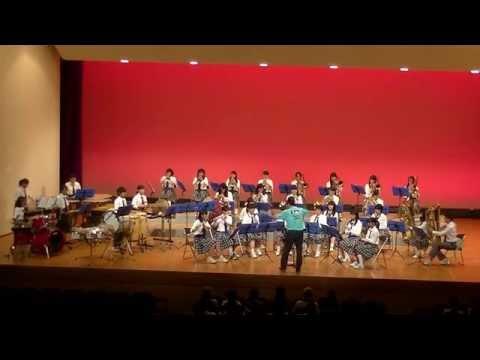 第47回伊都地方吹奏楽祭 高野口中学校吹奏楽部 「瞳」・「学園天国」 他