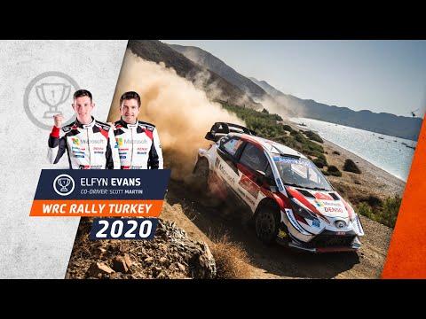 WRC ラリー・ターキー(トルコ)。気になるシーンを集めたダイジェスト動画