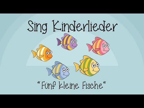 Download Fünf kleine Fische - Kinderlieder zum Mitsingen | Sing Kinderlieder