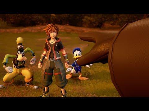 《王國之心3》最新遊玩影片釋出!