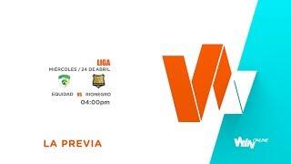 La Equidad Vs Rionegro (La Previa) - Liga Aguila 2019-I - Fecha 16