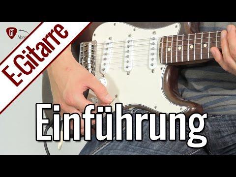 E-Gitarren Tutorials - Ab jetzt neu bei GitarrenTunes!   E-Gitarre