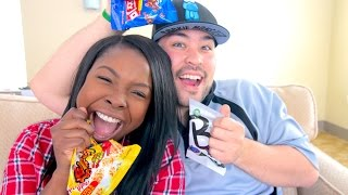 Trying Korean Snacks - Bloopers & Extras