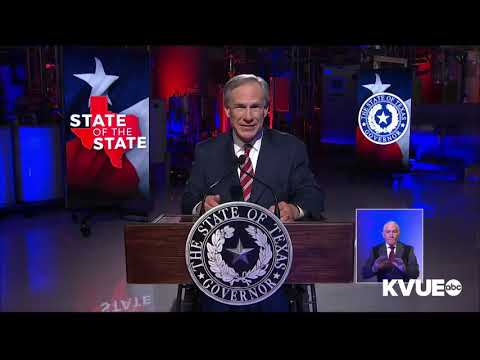 Governor Abbott's 2021 State Of The State Address Thumbnail
