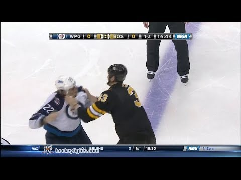 Zdeno Chara vs. Chris Thorburn