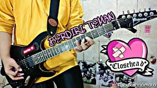 [GUITAR COVER] CloseHead   Berdiri Teman