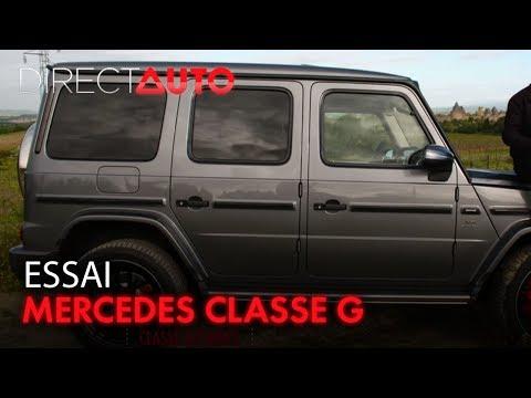 MERCEDES CLASSE G : LE DERNIER DINOSAURE !