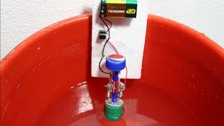 How To Make Water Overflow Alarm At Home  Water Level Indicator