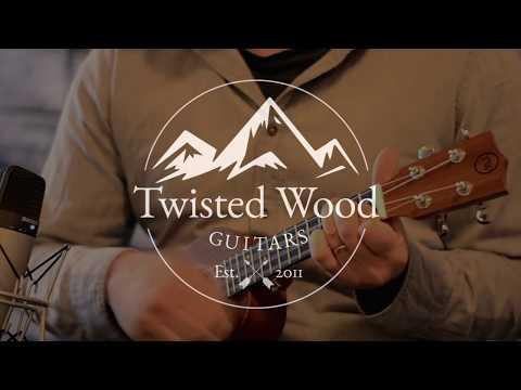 New Pioneer Ukulele - by Twisted Wood Guitars