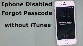 How to Remove the Passcode on iPhone/iPad/iPod without iTunes or Passcode Using Tenorshare 4uKey