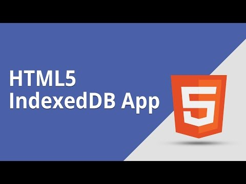 HTML5 Programming Tutorial | Learn HTML5 IndexedDB App - Introduction