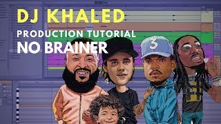 How to Produce: DJ Khaled - No Brainer | Vocal Chop tutorial
