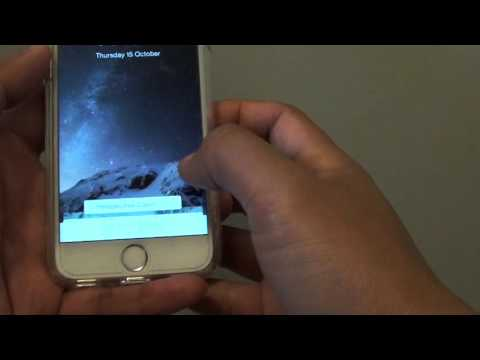 iPhone 6: How to Change Background Wallpaper