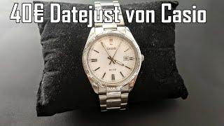 Casio MTP-1302 || Die Rolex Datejust Hommage von Casio || günstiger Klassiker