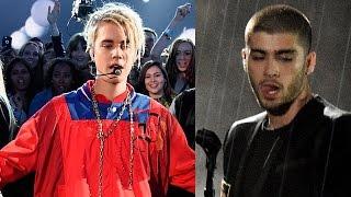 Justin Bieber y Zayn Malik Presentaciones de Premios iHeartRadio 2016