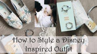 How I Style A Disney Outfit | Ft. Disney X Toms | Danielle Nicole | Disney X Pandora