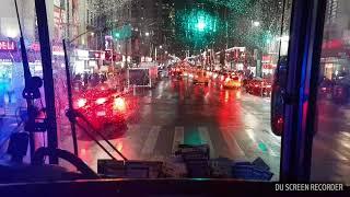 Chilly winter night in New York 2018